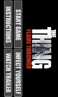 The Thing: Flame Thrower - screenshot thumbnail