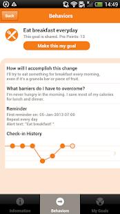 AADE Diabetes Goal Tracker - screenshot thumbnail