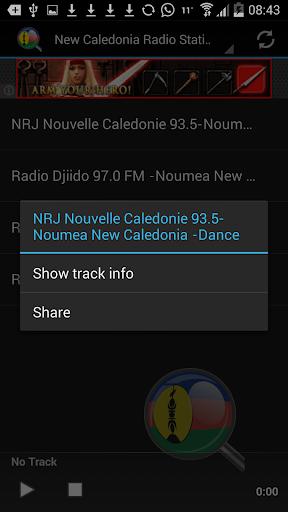 玩音樂App|New Caledonia Radio Stations免費|APP試玩