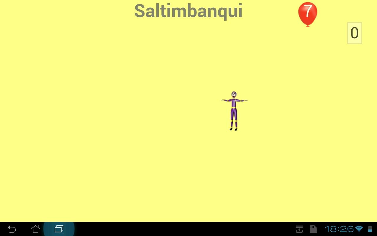 Saltimbanqui- screenshot