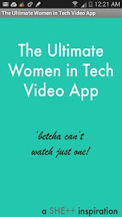Women In Tech- screenshot thumbnail