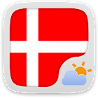 Danish Language GOWeatherEX icon