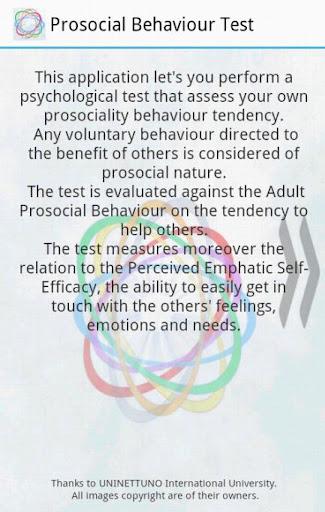 Prosociality Test