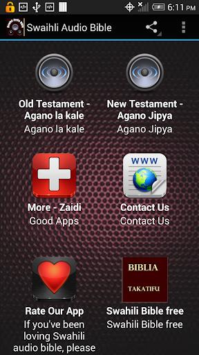 Swahili Audio Bible Kiswahili