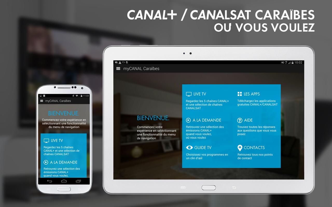 myCANAL Caraïbes, par CANAL+- screenshot