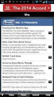 NBC10 Weather - screenshot thumbnail