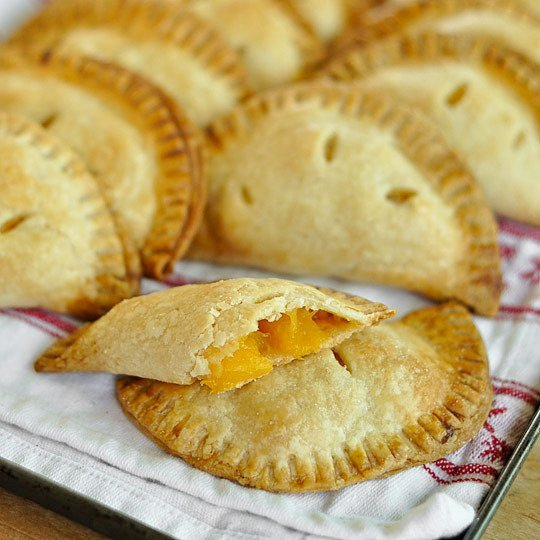 Peach Ginger Hand Pies Recipe