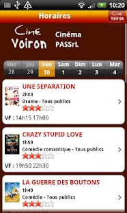 Ciné Voiron- screenshot thumbnail