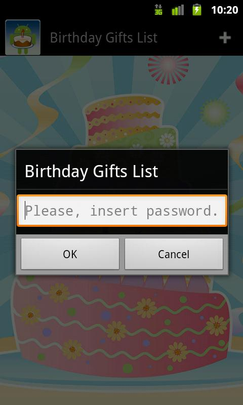 Birthday Gifts List Android Apps On Google Play