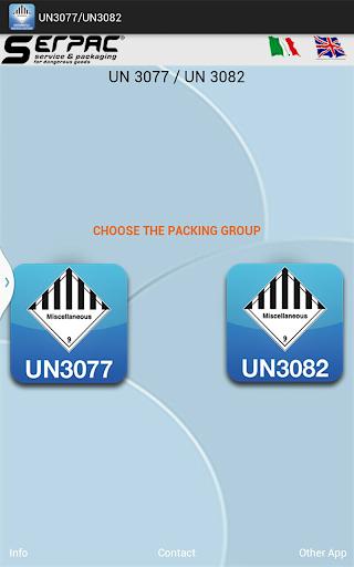 UN 3077 UN 3082