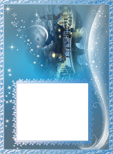 Winter photo frames android apps on google play for Frame per foto