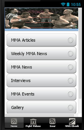 MMA Events Videos and News