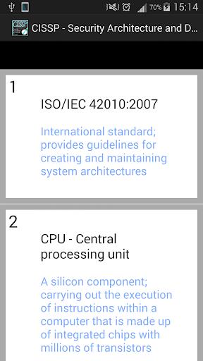 CISSP - Secur. Arch. Design