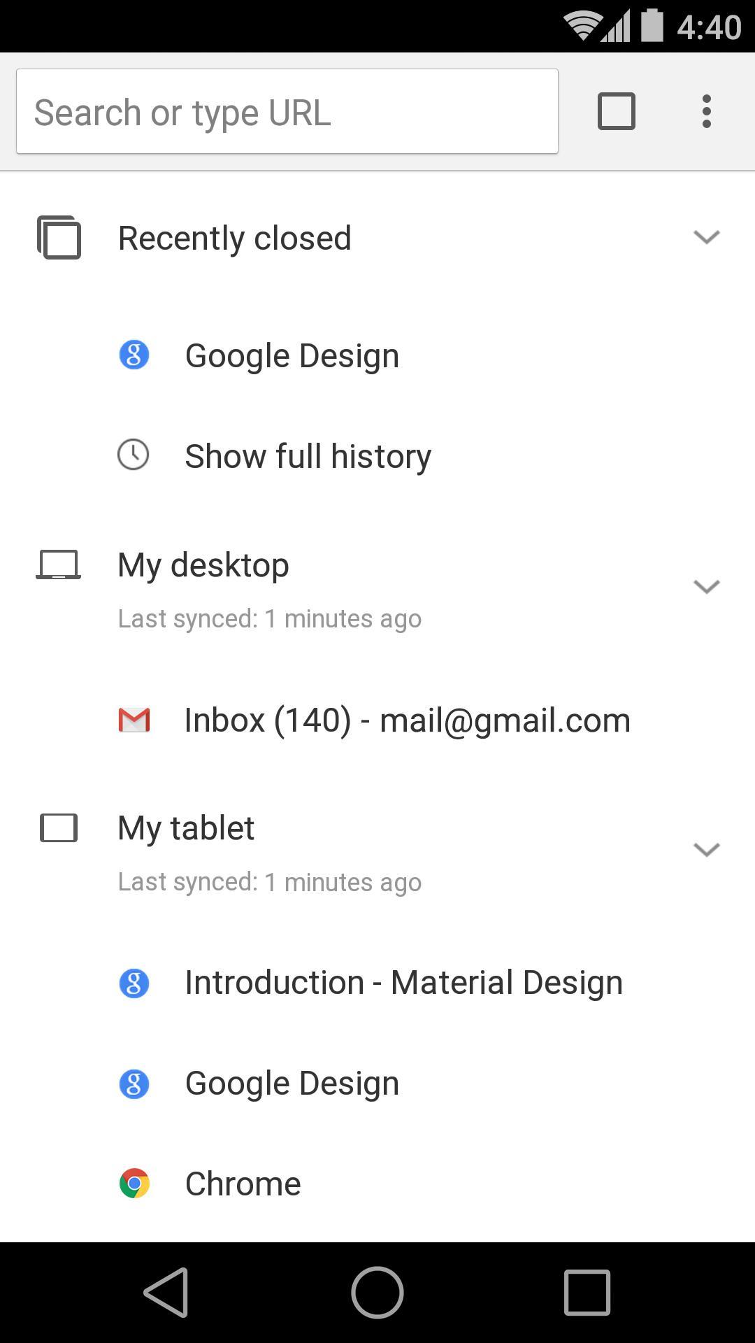 Chrome Browser - Google screenshot #4