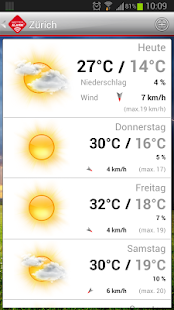 Wetter-Alarm® - screenshot thumbnail