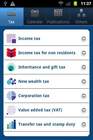 TaxSpain- screenshot