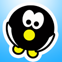 Penguin Roll Free icon