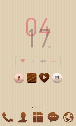 【免費個人化App】Happy valentine dodol theme-APP點子