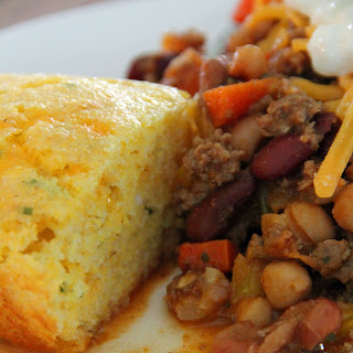 Chili and Cornbread for Two