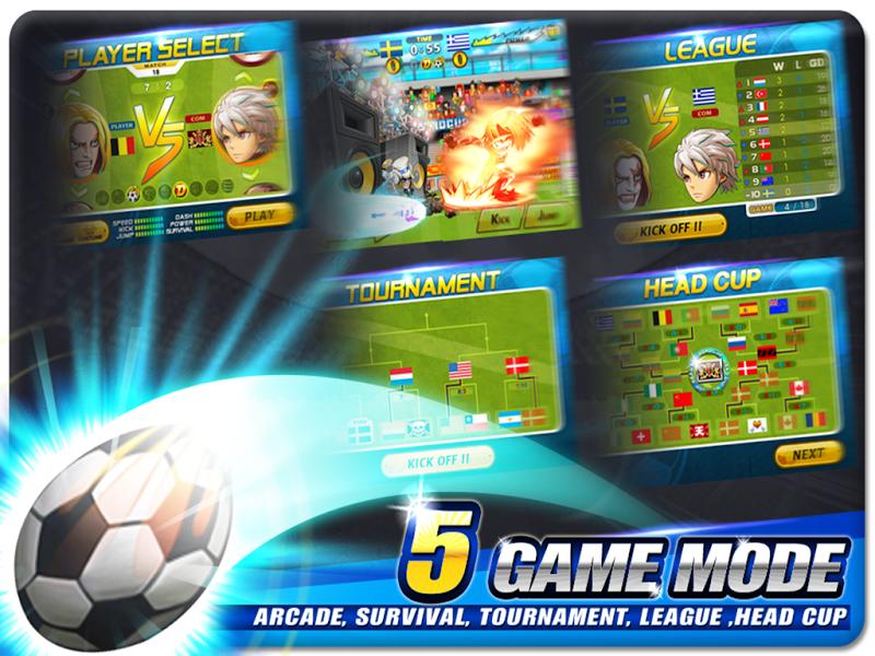 Head Soccer v3.2.0 Mod APK - Screenshot
