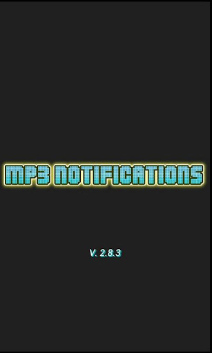 MP3 Notifications