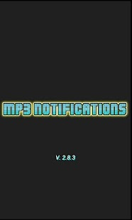 MP3 Notifications - screenshot thumbnail