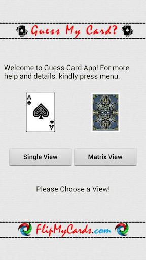 Free Guess Card HD