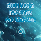 Tron Legacy Blue Go Locker ICS