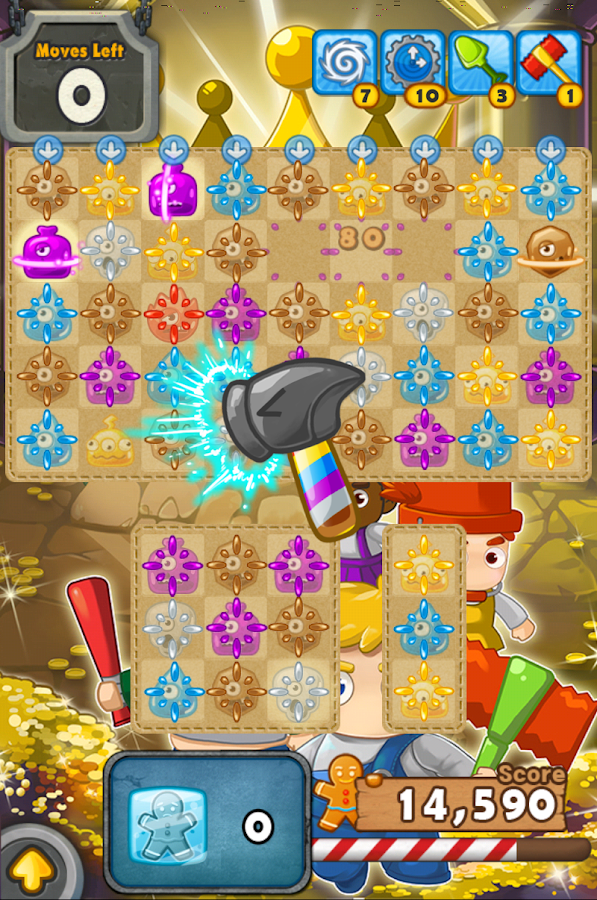 MonsterBusters: Match 3 Puzzle - screenshot