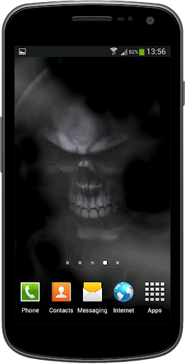 Ghost Skull Live Wallpaper
