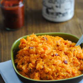 Chipotle-Maple Mashed Sweet Potatoes