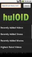 Screenshot of hulOID