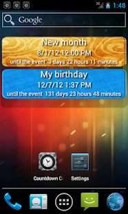 Countdown calendar. - screenshot thumbnail