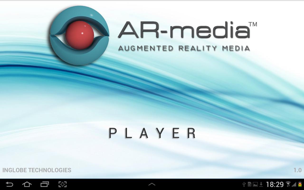 ARMedia Player - screenshot