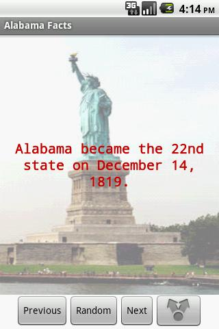 Alabama Facts - screenshot
