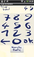 Screenshot of The number's game