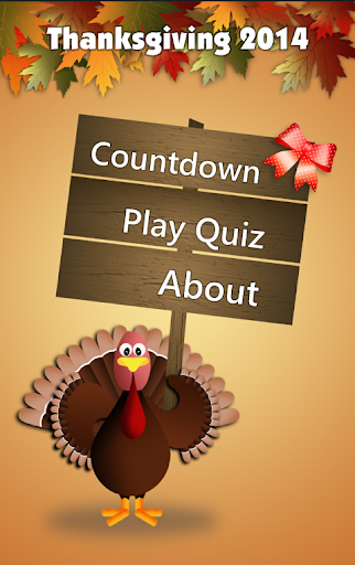 Thanksgiving Countdown Trivia