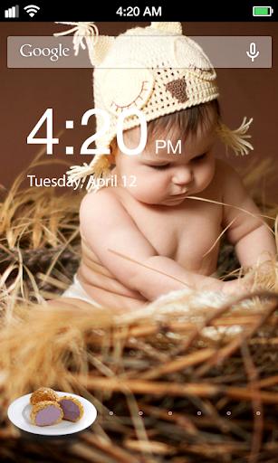 Cake Child Lock Screen