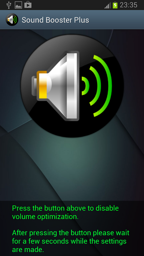 Sound Booster- screenshot
