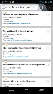 Hispanic Scholarships & Grants - screenshot thumbnail