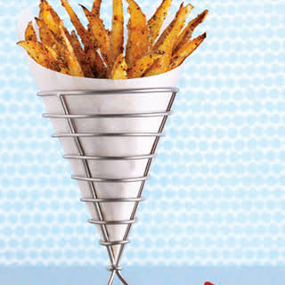 Crispy Seasoned Oven Fries.