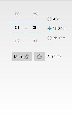 BeQuiet Mute Timer FREE