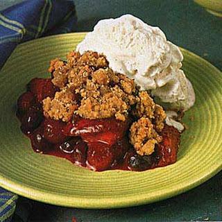 Mixed Berry Crisp.
