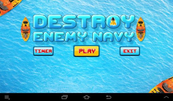 Destroy Enemy Navy: Ripple apk screenshot