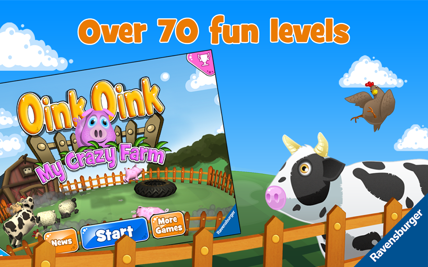 Oink, Oink – My Crazy Farm- screenshot