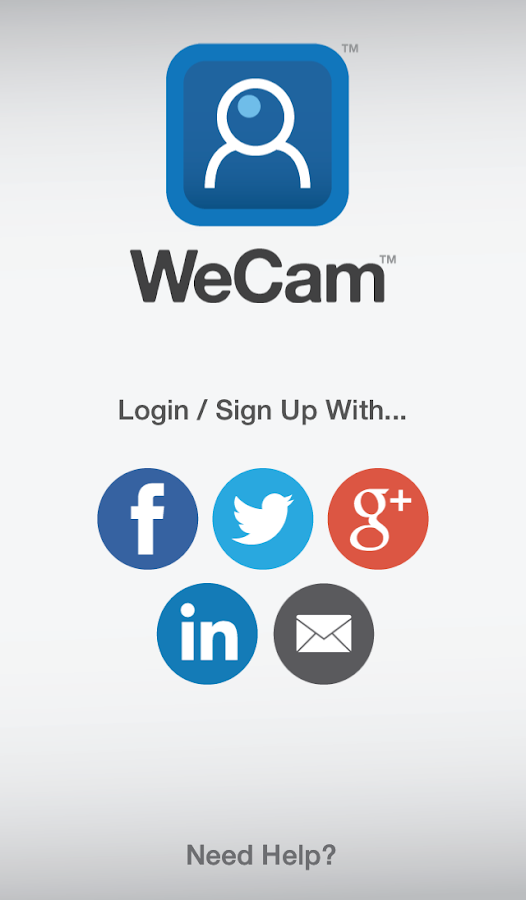 WeCam- screenshot