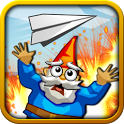 Paper Glider vs. Gnomes icon