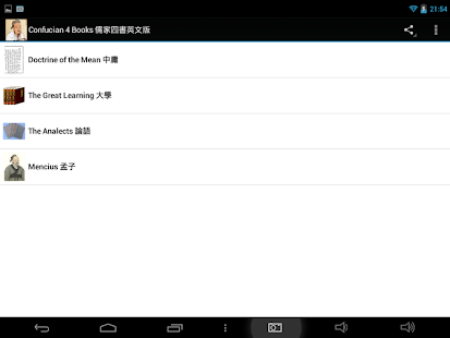 Confucian 4 Books 儒家四書英文版