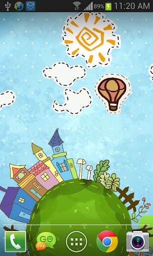 Cartoon City Live Wallpaper 1.1.6 screenshots 2