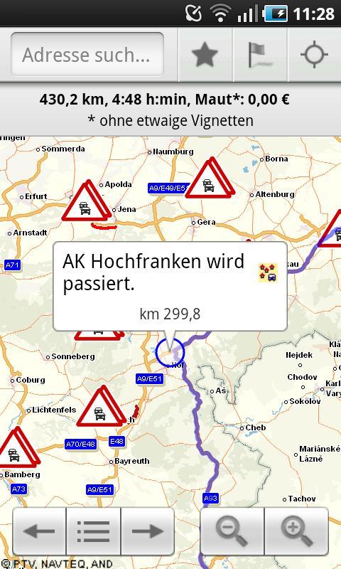 ADAC Maps für Mitglieder - screenshot